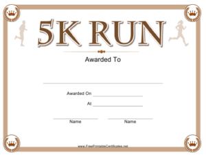 5K Run Certificate Template Download Printable Pdf within 5K Race Certificate Templates