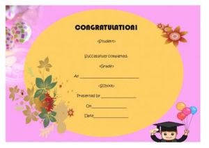 5Th Grade Graduation Certificate Template : 24+ Printable with 5Th Grade Graduation Certificate Template