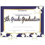 5Th Grade Graduation Certificates | Anderson'S | Graduation throughout 5Th Grade Graduation Certificate Template