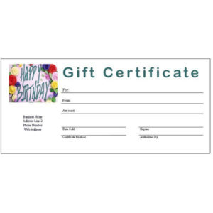 6 Free Printable Gift Certificate Templates For Ms Publisher in Unique Publisher Gift Certificate Template
