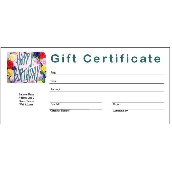 6 Free Printable Gift Certificate Templates For Ms Publisher inside Gift Certificate Template Publisher