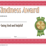 7+ Certificate Of Kindness Free Printable [2020 Ideas] Inside Quality Kindness Certificate Template 7 New Ideas Free