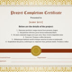 7 Certificates Of Completion Templates [Free Download]   Hloom For Quality Class Completion Certificate Template