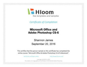 7 Certificates Of Completion Templates [Free Download] | Hloom within First Aid Certificate Template Top 7 Ideas Free