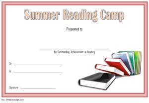7+ Fantastic Summer Reading Certificate Templates Free within Free Choir Certificate Templates 2020 Designs