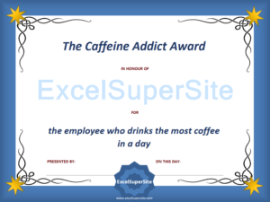 75 Funny Awards To Recognise The Efforts Of Your Staff with regard to Best Funny Certificates For Employees Templates