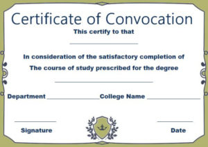8 Awesome Free Printable Masters Degree Certificate with Masters Degree Certificate Template