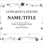 9+ Congratulation Certificate Templates | Free Printable With Regard To Fresh 9 Math Achievement Certificate Template Ideas