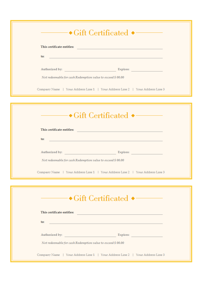 A Free Customizable Gift Voucher Template Is Provided To inside Custom Gift Certificate Template