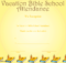 A Printable Certificate Recognizing Vacation Bible School regarding New Printable Vbs Certificates Free
