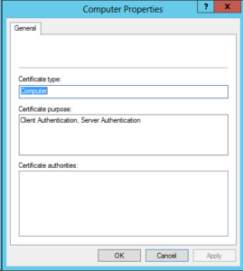 Active Directory Domain Controllers And Certificate Auto For Domain Controller Certificate Template