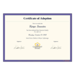 Adoption Certificate Template – Pdf Templates | Jotform Within Child Adoption Certificate Template Editable