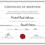 Adoption Certificates – Magdalene Project In Pet Adoption Throughout Quality Blank Adoption Certificate Template