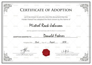 Adoption Certificates – Magdalene Project In Pet Adoption throughout Unique Adoption Certificate Template