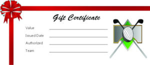 Adorable Golf Certificates For Professional Players : Free throughout Golf Certificate Templates For Word