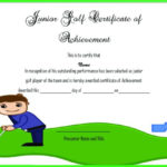 Adorable Golf Certificates For Professional Players : Free Within Quality Golf Certificate Template Free