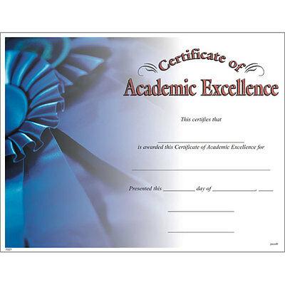 Akademische Excellence Award Certificate, Pack 15 | Ebay Regarding Academic Excellence Certificate