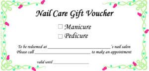 Always A Good Idea! | Gift Certificate Template Word, Gift for Nail Gift Certificate Template Free