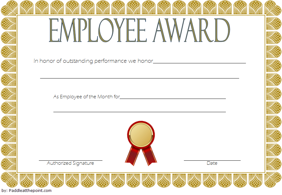 An Employee Of The Week Certificate Template Free 2 | Awards intended for Quality Best Employee Certificate Template