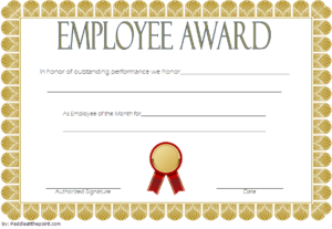 An Employee Of The Week Certificate Template Free 2 | Awards throughout School Promotion Certificate Template 10 New Designs Free