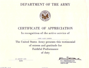 Army Certificate Of Achievement Template (5) – Templates for Unique Army Certificate Of Completion Template