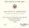 Army Certificate Of Achievement Template (5) - Templates throughout Army Certificate Of Achievement Template