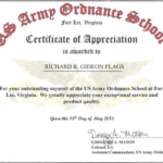 Army Certificate Of Appreciation Template (8) – Templates E In Fresh Certificate Of Achievement Army Template