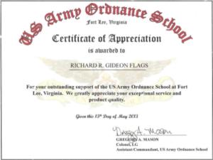 Army Certificate Of Appreciation Template (8) – Templates E in Fresh Certificate Of Achievement Army Template