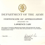 Army Certificate Of Completion Template Unique Army Certific In Certificate Of Achievement Army Template