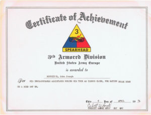 Army Certificate Of Promotion Template – Template Free with regard to Army Certificate Of Achievement Template