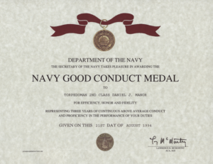 Army Good Conduct Medal Certificate Template | Certificate with Unique Army Good Conduct Medal Certificate Template