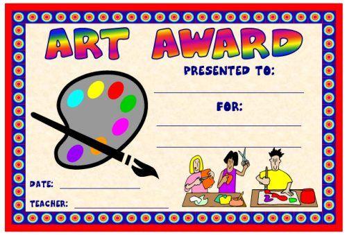 Art And Music Award Certificates | Award Certificates, Art regarding Art Award Certificate Free Download 10 Concepts