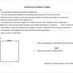 Australian Doctors Certificate Template (6) – Templates Within Unique Australian Doctors Certificate Template