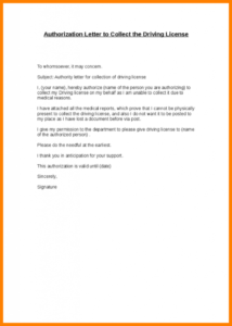 Authorization Letter To Collect Certificate – Authorization intended for Best Certificate Of Authorization Template