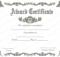Award Certificate (Royal, #951) | Certificate Of Achievement for Fresh Sample Award Certificates Templates