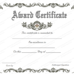 Award Certificate (Royal, #951) | Certificate Of Achievement Pertaining To Free Printable Certificate Of Achievement Template