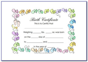 Baby Doll Birth Certificate Template | Vincegray2014 Regarding Best Baby Doll Birth Certificate Template