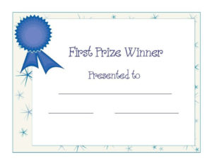 Baby Shower Award Certificate | Certificate Templates for Baby Shower Game Winner Certificate Templates