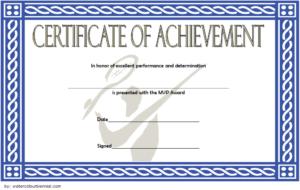 Badminton Achievement Certificate Free Printable 4 intended for New Badminton Achievement Certificates