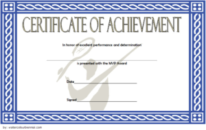 Badminton Achievement Certificate Free Printable 4 with Badminton Achievement Certificate Templates