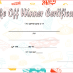 Bake Off Winner Certificate Template Free 1   Bake Off with Best Bake Off Certificate Templates