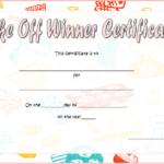 Bake Off Winner Certificate Template Free 1   Bake Off Within Bake Off Certificate Template