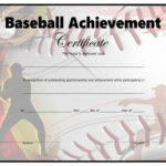 Baseball Certificate - Free Printable - Allfreeprintable pertaining to Baseball Achievement Certificate Templates