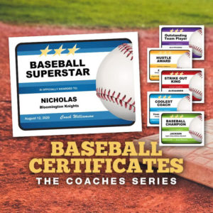 Baseball Certificates – Coaches Series, Editable Baseball Awards Templates,  Baseball Gift, Baseball Coach, Baseball Mom Dad regarding Editable Baseball Award Certificates