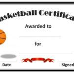 Basketball Award Certificate To Print | Basketball Awards Pertaining To 7 Basketball Achievement Certificate Editable Templates