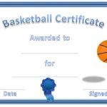 Basketball Award Certificate To Print | Free Basketball Inside Best 7 Basketball Achievement Certificate Editable Templates