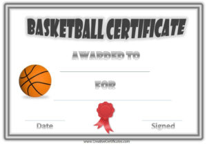 Basketball Awards | Basketball Awards, Certificate Templates pertaining to Unique Download 10 Basketball Mvp Certificate Editable Templates
