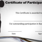 Basketball Certificate Of Participation   Basketball Games Intended For Running Certificate Templates 10 Fun Sports Designs