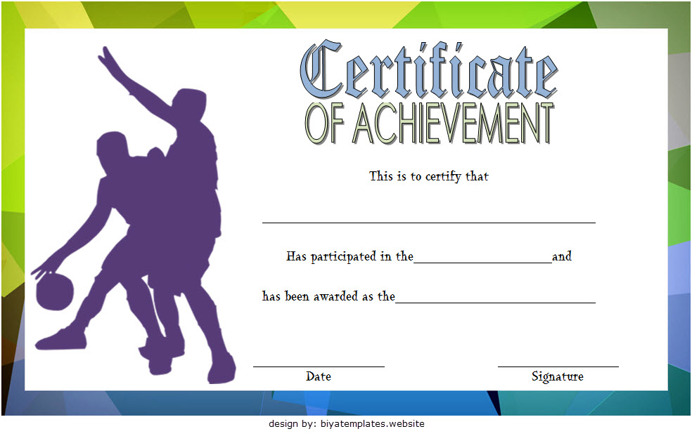 Basketball Certificate Template Free: 13+ Superb Designs Di 2020 With Regard To New Basketball Certificate Template Free 13 Designs