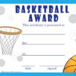 Basketball Certificate Template | Free Basketball Within New Basketball Certificate Template